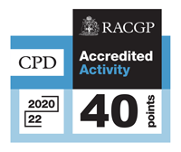 RACGP Accredited Activity 40 CPD Points